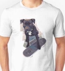 SK8 Staffy Dog T-Shirt