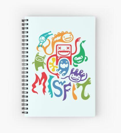 Misfits  Spiral Notebook