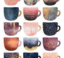 Pretty Coffee Cups 2 by Elisabeth Fredriksson