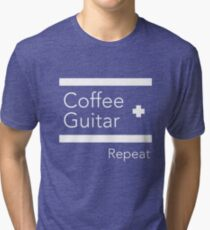 For Guitar Enthusiasts! Tri-blend T-Shirt