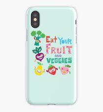 Eat Your Fruit & Veggies  iPhone Case/Skin