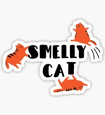 Smelly kitty Sticker