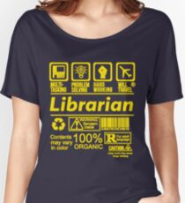 LIBRARIAN EXCLUSIVE DESIGN | READ MY ARTIST NOTE FOR MORE Women's Relaxed Fit T-Shirt