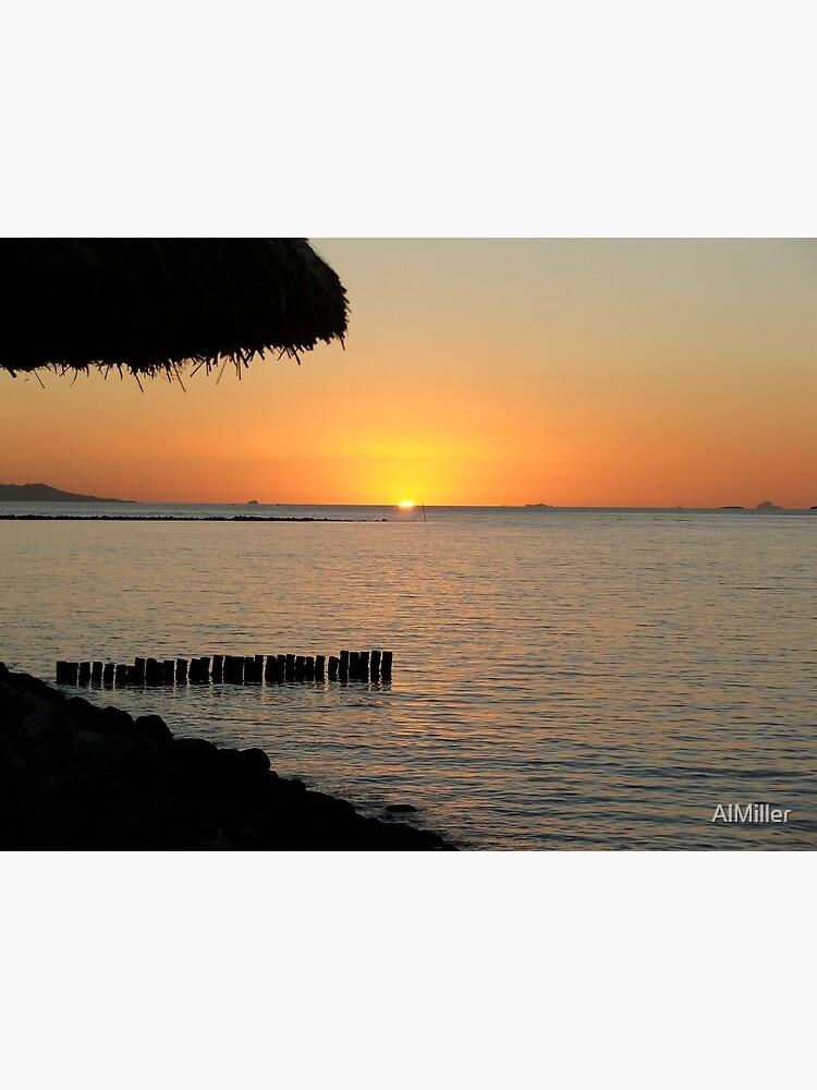 Fijian Sunset 1 by AlMiller