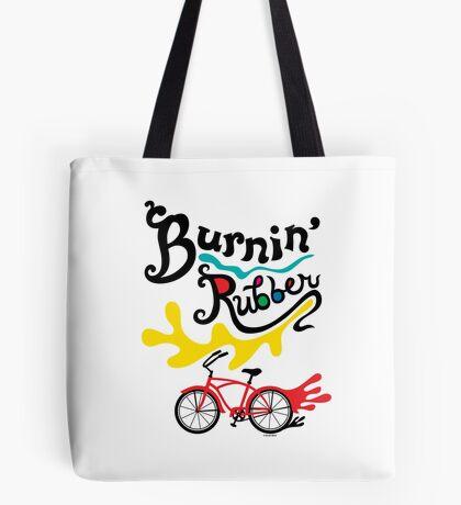 Burnin' Rubber  Tote Bag