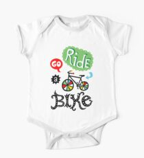 Go Ride a Bike   One Piece - Short Sleeve