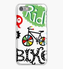 Go Ride a Bike   iPhone Case/Skin
