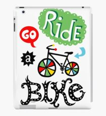 Go Ride a Bike   iPad Case/Skin