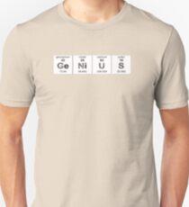 GENIUS CHEMISTRY PERIODIC TABLE  Unisex T-Shirt