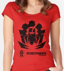 Robowars STAFF COMPETITOR Design Vivid 2017 Women's Fitted Scoop T-Shirt