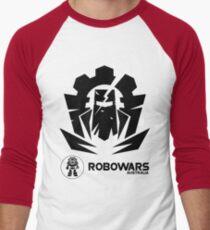 Robowars STAFF COMPETITOR Design Vivid 2017 Men's Baseball ¾ T-Shirt