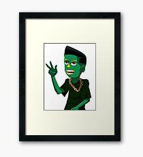 Gumby Framed Print