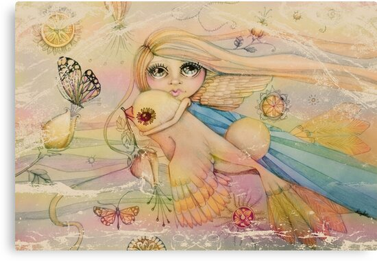 rainbow angel by Karin Taylor