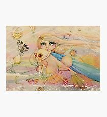 rainbow angel Photographic Print