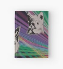 Cat on We Have Lasers Hardcover Journal