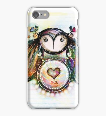 Love and Light Owl iPhone Case/Skin
