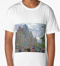 Touring on the streets of New York Long T-Shirt