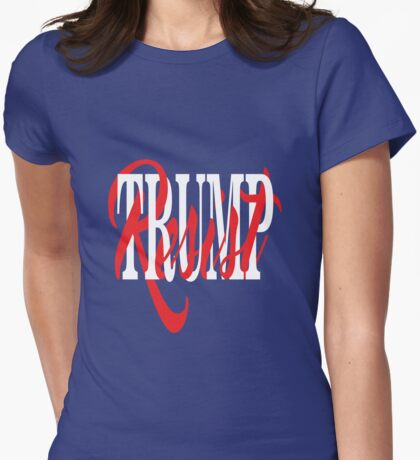 Resist Trump Interlaced Text T-Shirt