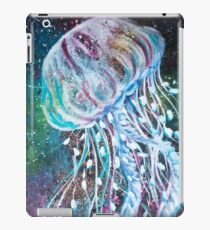 Space Floral Jellyfish  iPad Case/Skin