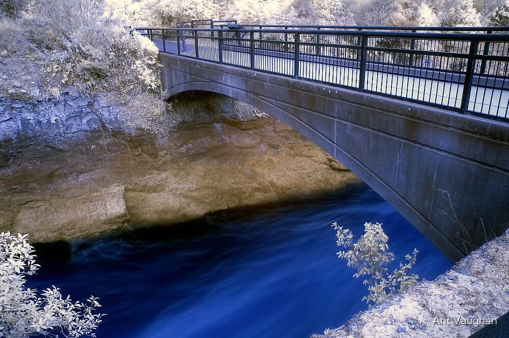 Huka Bridge by Ant Vaughan
