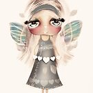 vintage hearts and wings by Karin Taylor