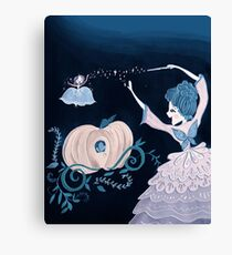 Fairy Godmother's Spell Canvas Print