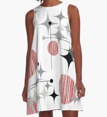 Eames Era Starbursts and Globes 2 A-Line Dress