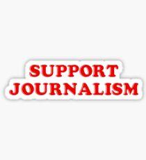 support journalism Sticker