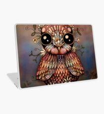 little rainbow flower owl Laptop Skin