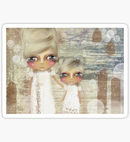seaside angels Sticker