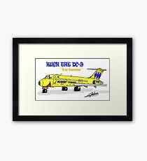 Hughes Airwest DC-9 Framed Print