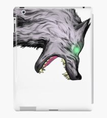 Wolf crush iPad Case/Skin