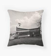 The Aerodrome Throw Pillow
