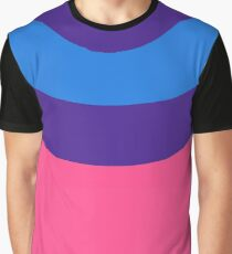 Bill's Shirt (pink, purple and blue) Graphic T-Shirt