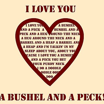 Bushel And A Peck by momboy