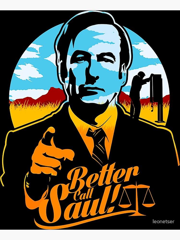 Better Call Saul Logo Poster