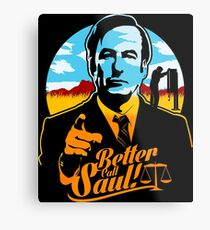 Besseres Ruf Saul Logo Metallbild