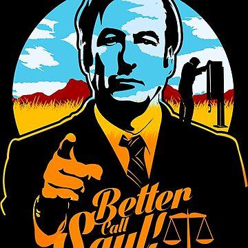 Better Call Saul Logo by leonetser