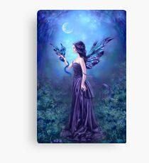 Iridescent Fairy & Dragon Canvas Print