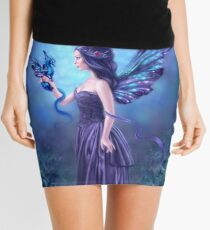 Iridescent Fairy & Dragon Mini Skirt