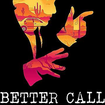 The Impressive Better Call Saul Logo by leonetser