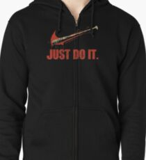Just Do It Zipped Hoodie