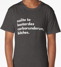 Nolite te bastardes corborundorum, bitches (the handmaid's tale) Long T-Shirt