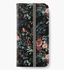 Midnight Floral iPhone Wallet/Case/Skin