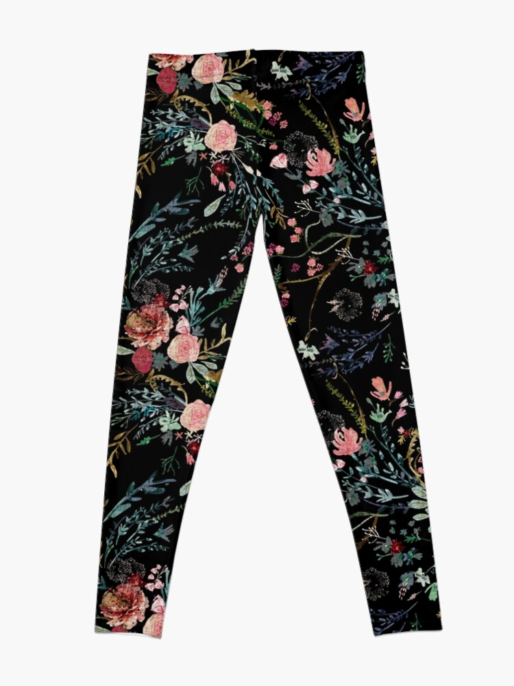 Alternate view of Midnight Floral Leggings