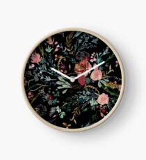 Mitternacht Blumen Uhr