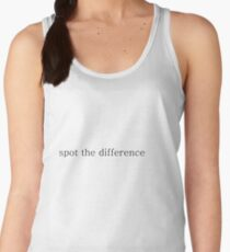 Spot the difference Women's Tank Top