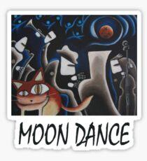 Moon Dance T-Shirt Sticker