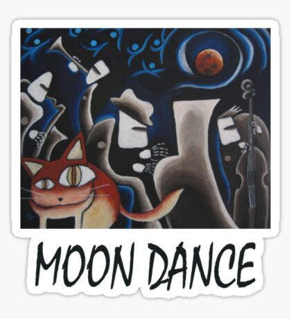 Moon Dance T-Shirt Sticker