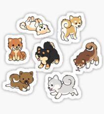 Shiba Inus Sticker